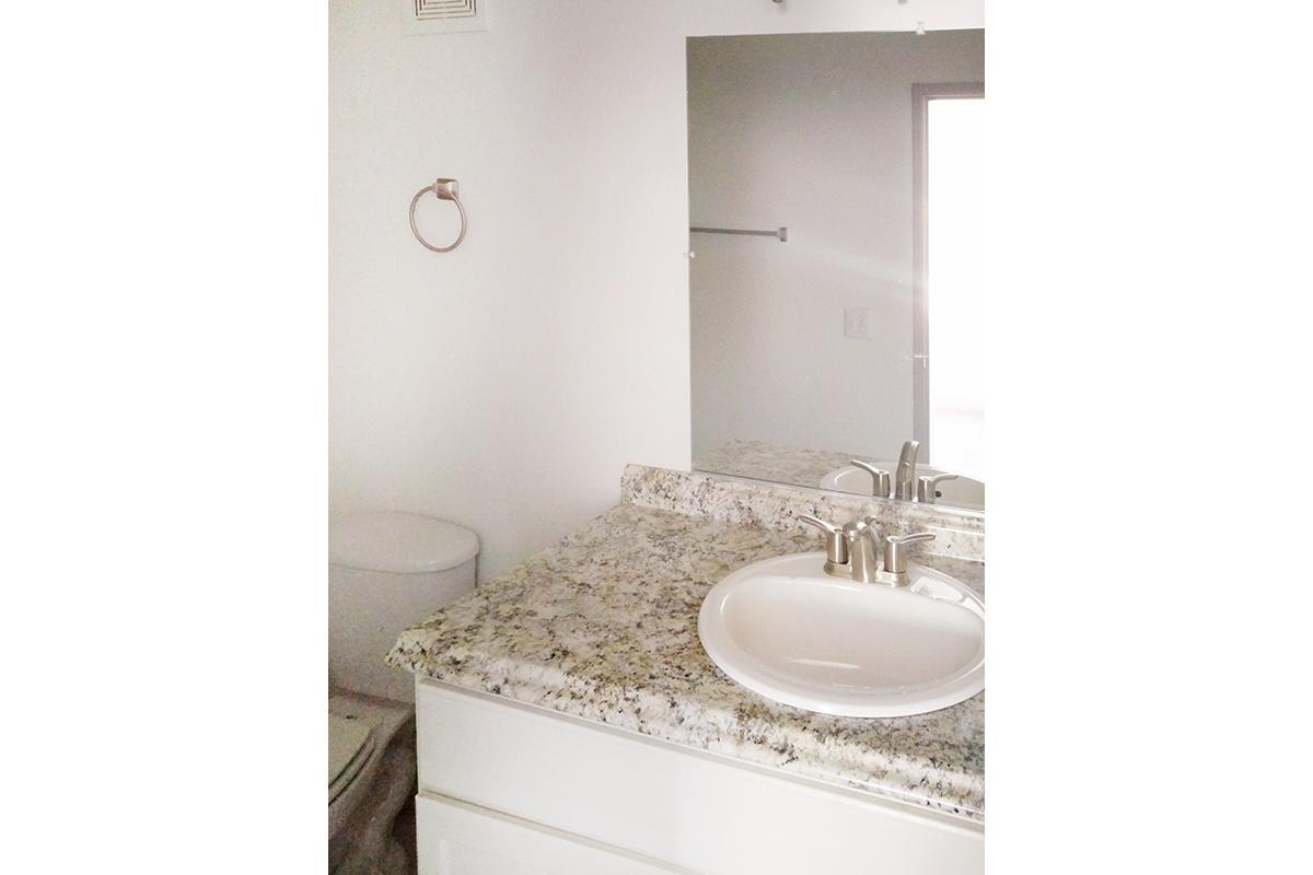 CLASSY WASHROOMS AT WOODHAVEN APARTMENTS IN LAS VEGAS