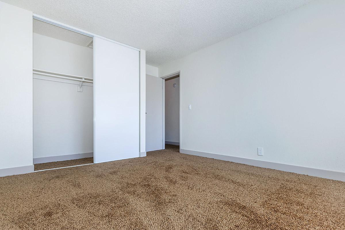 SPACIOUS CLOSETS AT WOODHAVEN APARTMENTS IN LAS VEGAS