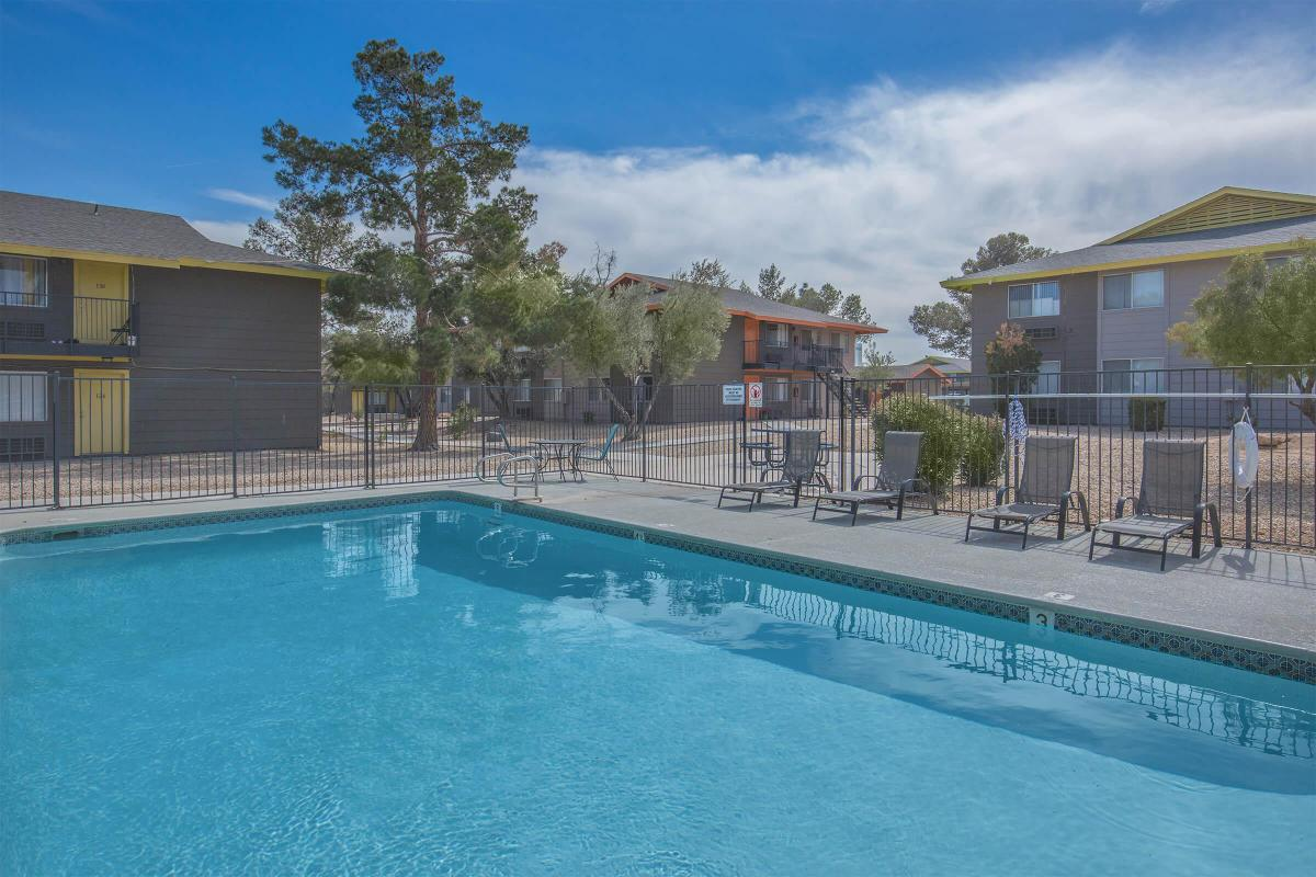 Soak up the sun at Woodhaven Apartments in Las Vegas, Nevada