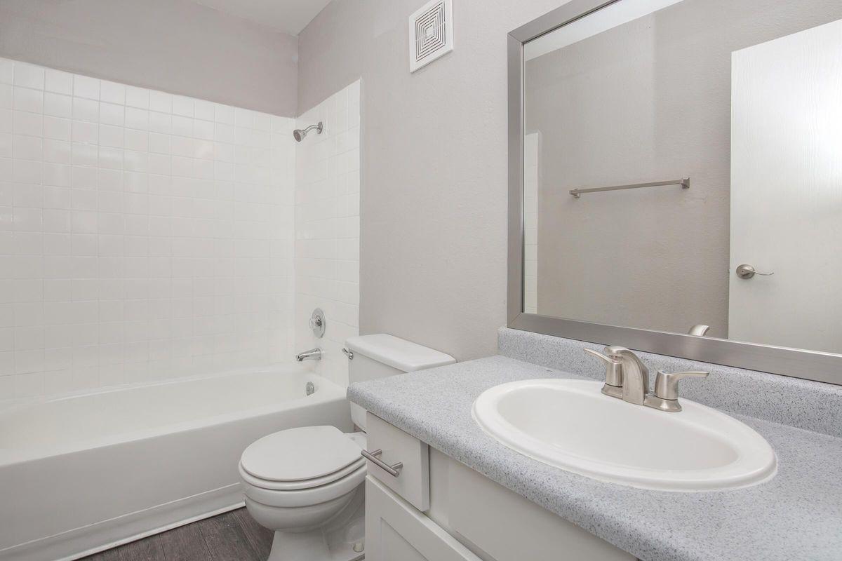 Modern Bathroom Woodhaven Apartments in Las Vegas, Nevada