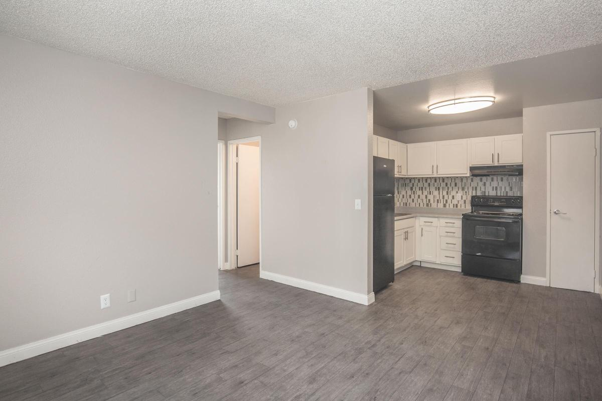 Open floor plan at Woodhaven Apartments in Las Vegas, Nevada