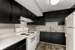 Eye catching modern fully-equipped electric kitchen
