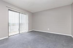 Spacious carpeted one bedroom apartment