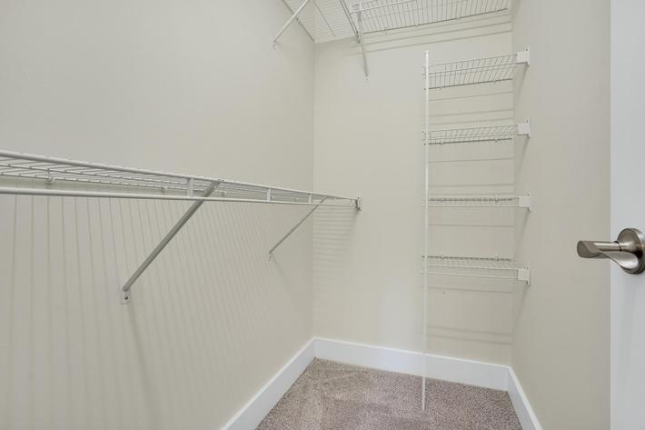 Enjoy Walk-in Closets At Elevation In Wilmington, NC