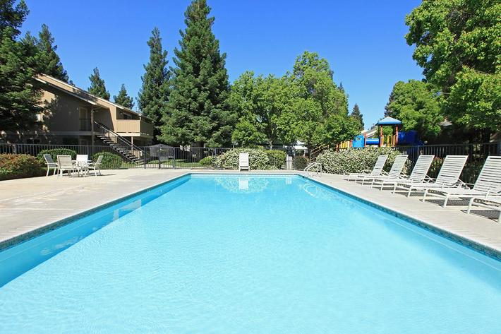 There are two pools at Madera Villa