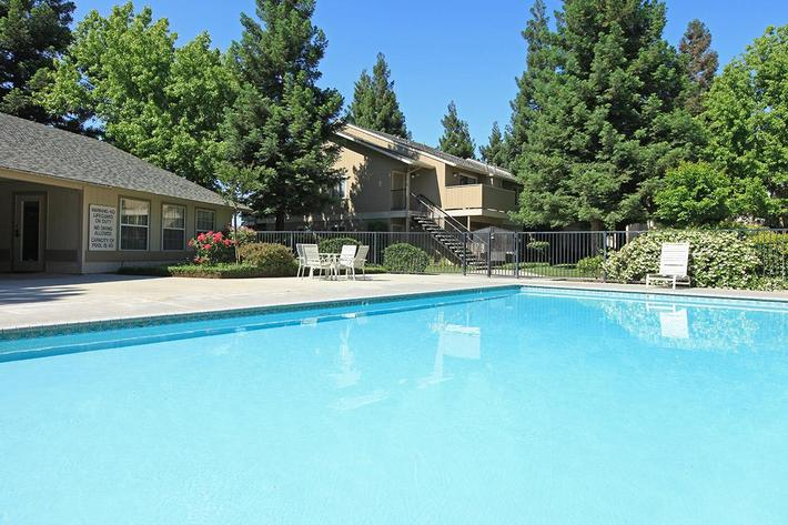 Take a dip in one of the pools at Madera Villa