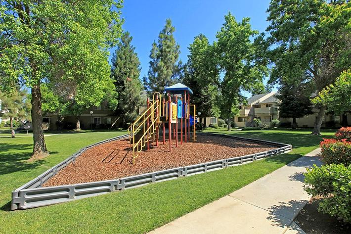 Madera Villa provides a playground area