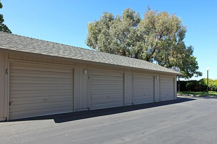 You will like the garages at Madera Villa