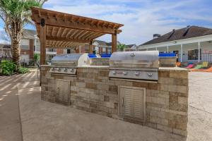 GRILL UP YOUR FAVORITES AT THE PICNIC AND BARBECUE AREA