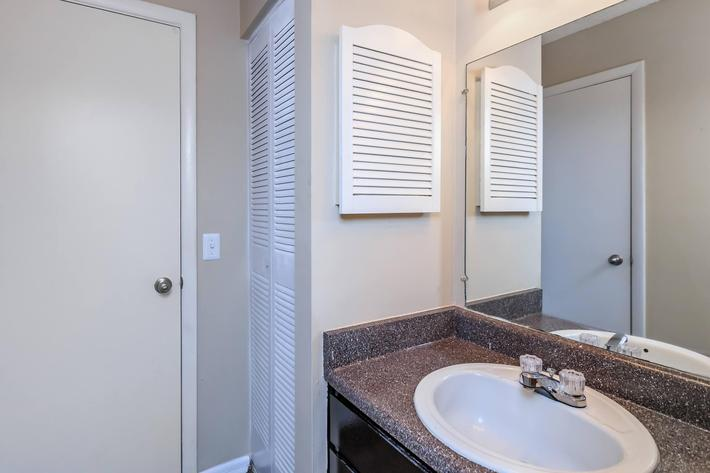 Bathroom at Eagles Crest at Jack Miller in Clarksville, Tennessee