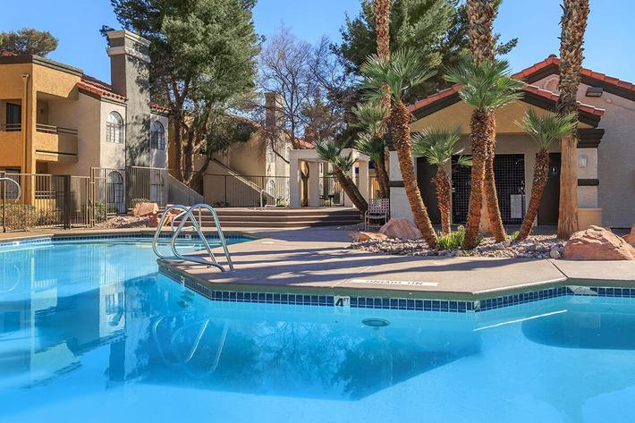 Take a dip at Sunset Cove Apartments
