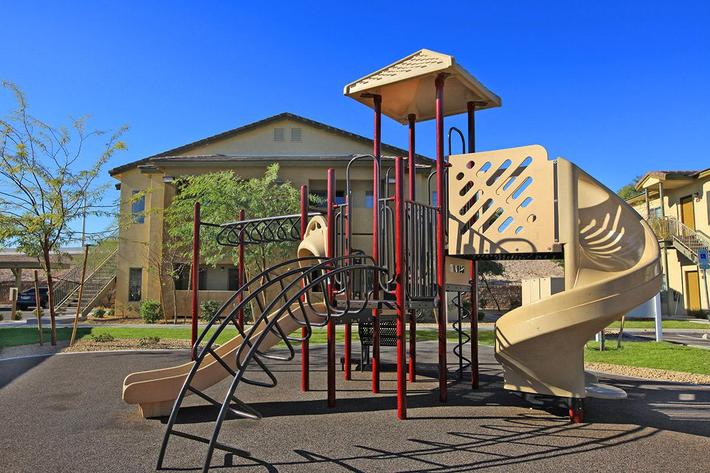 CHILDREN'S PLAY AREA AT SANDPOINTE IN LAS VEGAS