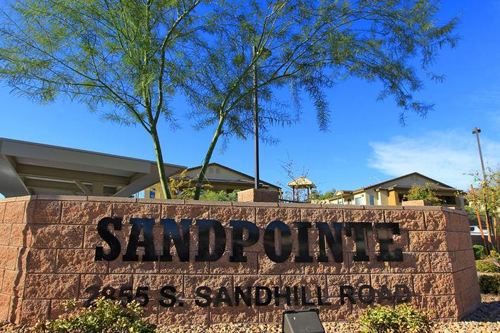 WELCOME HOME TO SANDPOINTE IN LAS VEGAS