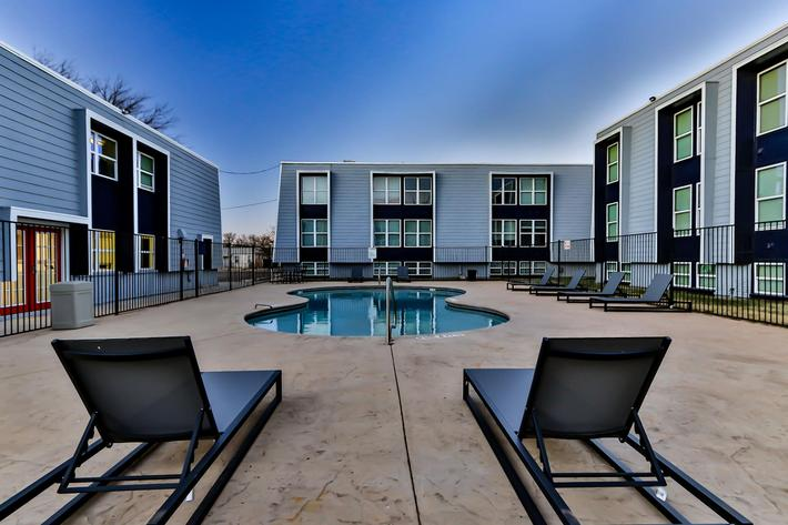 Take a dip in The Pointe Apartments pool
