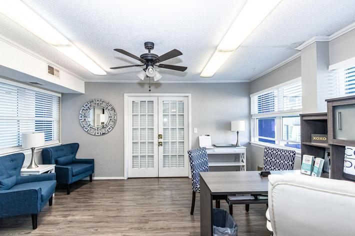 The Pointe Apartments open spacious floor plans
