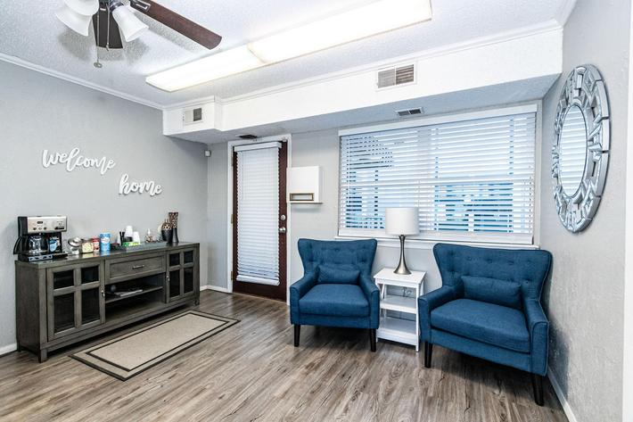 upgraded units at The Pointe Apartments
