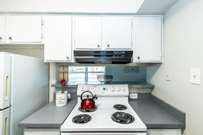 Beautiful kitchen at The Pointe Apartments