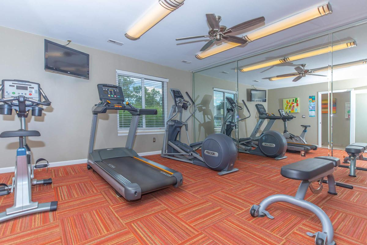STATE-OF-THE -ART FITNESS CENTER