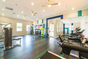 FEEL THE BURN AT THE FITNESS CENTRE