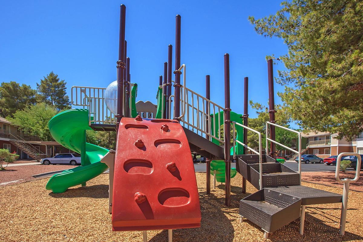 PLAYGROUND AT ROSEWOOD PARK IN LAS VEGAS, NEVADA