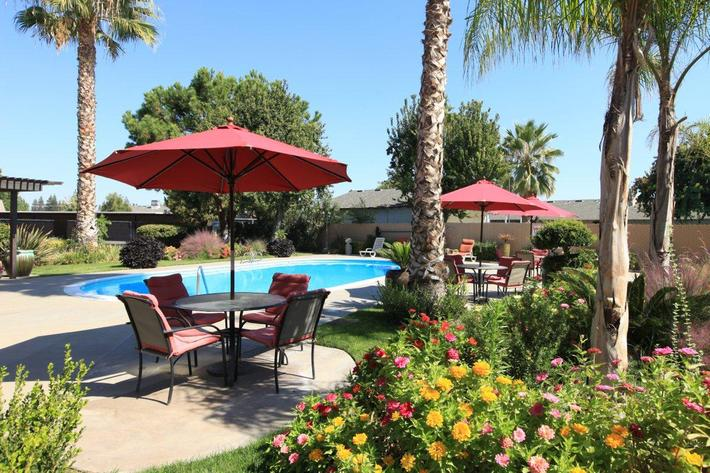 Unwind by the pool at Providence Pointe