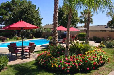 Enjoy the relaxing pool area at Providence Pointe