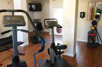 You will like the well-equipped fitness center at Providence Pointe