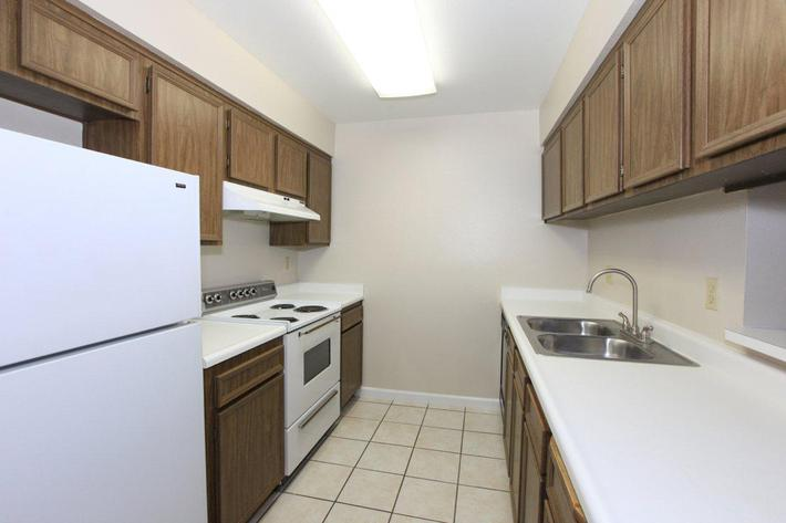 Providence Pointe provides spacious kitchens