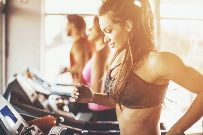 Treadmill workout. iStock-610750866.jpg