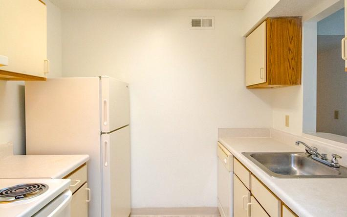 Well-equipped kitchen with lots of cabinet and counter space