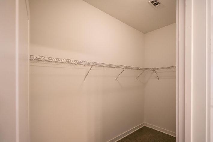 Walk-in Closets at 715 Woodland