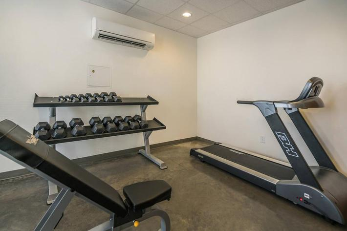 Fitness Center at 715 Woodland