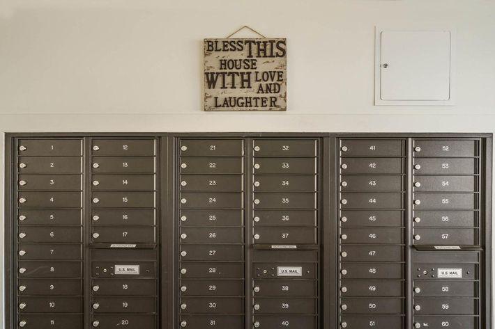 Mail Boxes at 715 Woodland