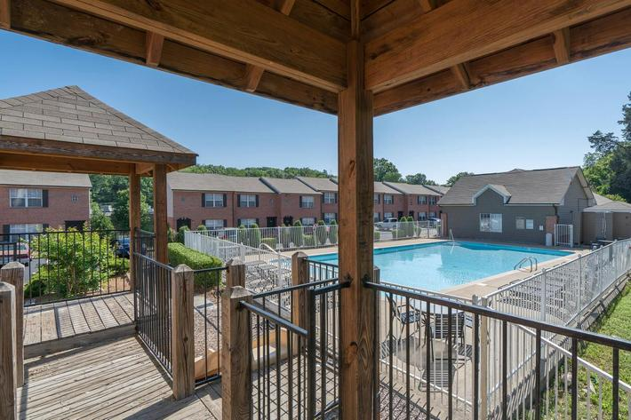 Great pool area here at Willow Pointe in Antioch, Tennessee
