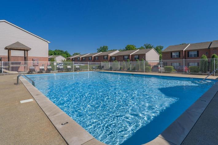 Kick back pool side here at Willow Pointe
