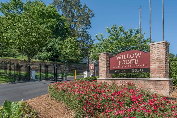 Welcome to Willow Pointe Apartment Homes in Antioch Tennessee