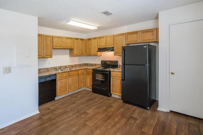 Three Bedroom Apartment Fully-equipped Kitchen