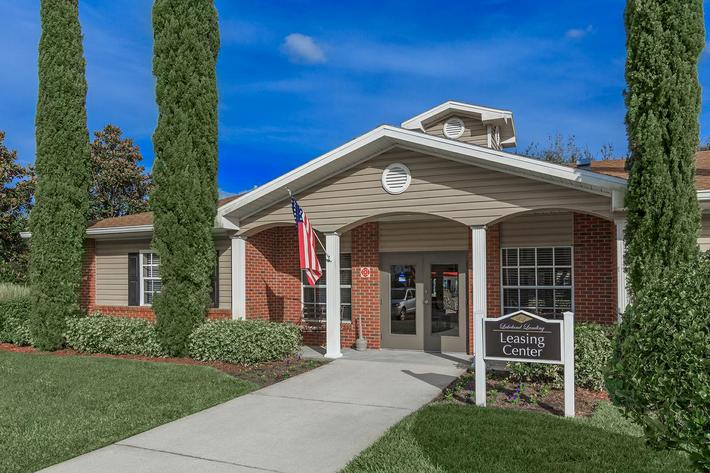 Check out our leasing office at Lakeland Landing in Lakeland, Florida.