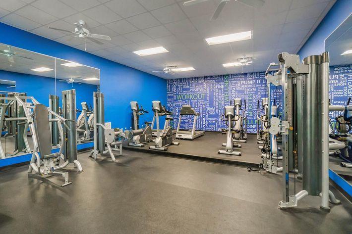 Feel the Burn in the Fitness Center
