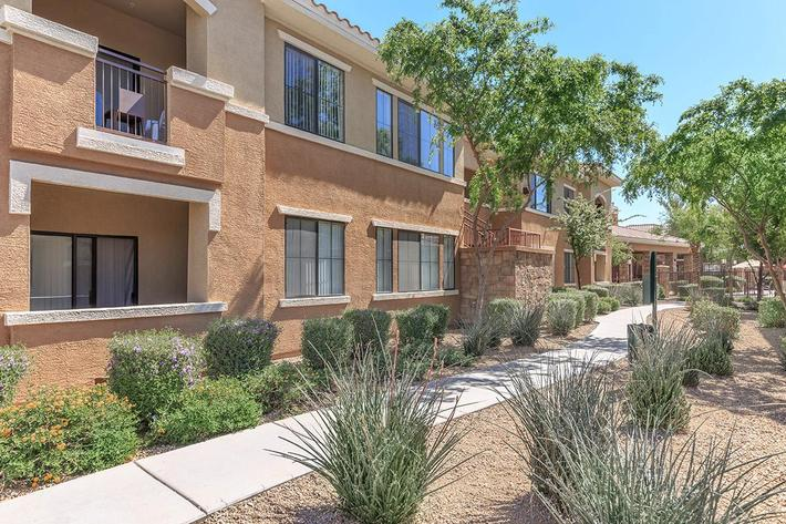 Balconies and Patios available at The Paseo Apartments