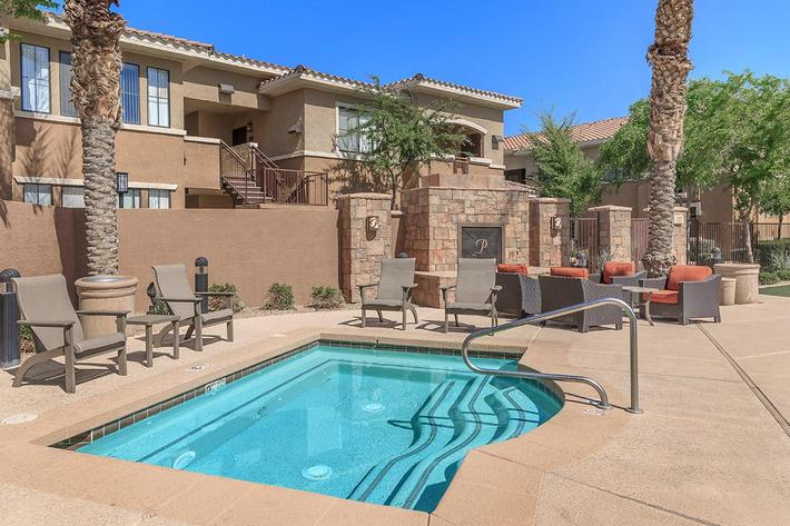 Two Hydrotherapy Spas at The Paseo Apartments in Goodyear, Arizona