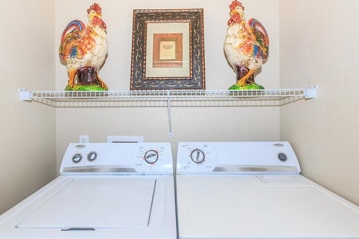 Washer and Dryer in Homes at The Paseo Apartments in Goodyear, Arizona