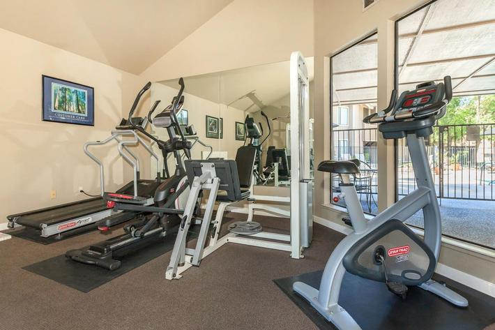 Willow Creek has a great fitness center