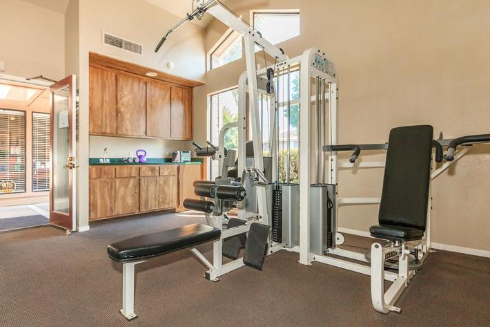 Willow Creek offers WiFi in the fitness center