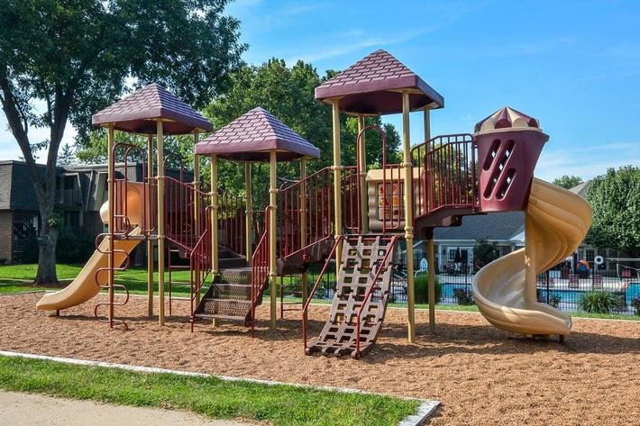 Kensington West Apartments in Ballwin, MO - Playground 03.jpg