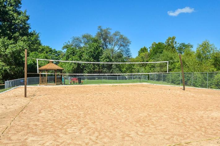 Kensington West Apartments in Ballwin, MO - Sand Volleyball 02.jpg