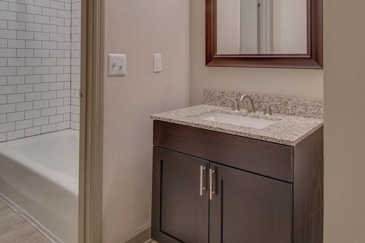 The Carter modern bathroom