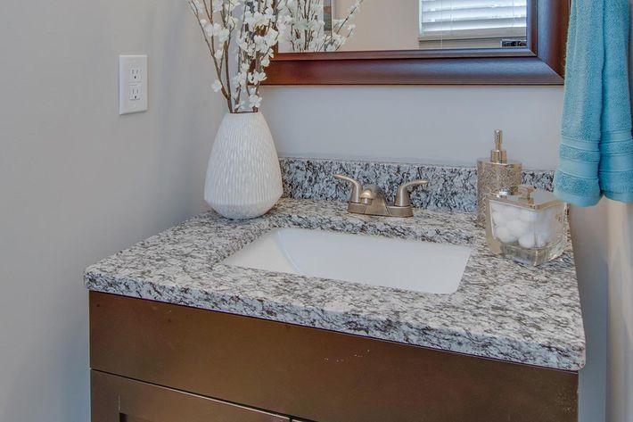 The McLemore sleek bathroom vanity