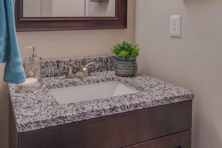 The McLemore unique bathroom design