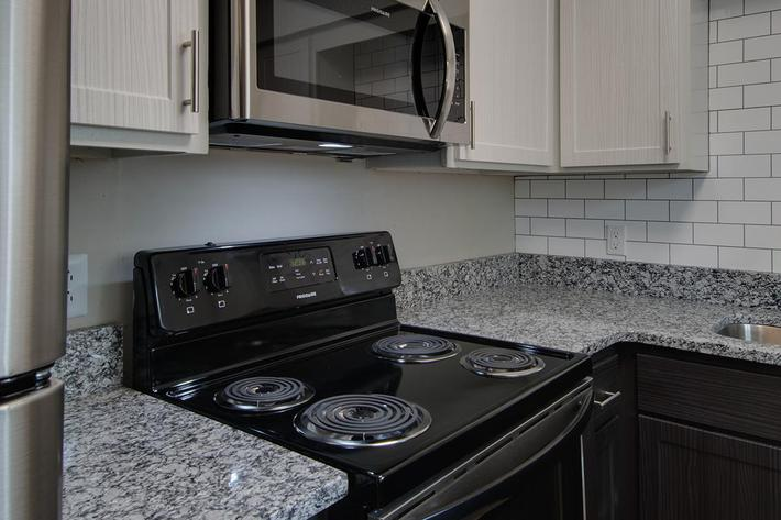The Seward all-electric kitchen